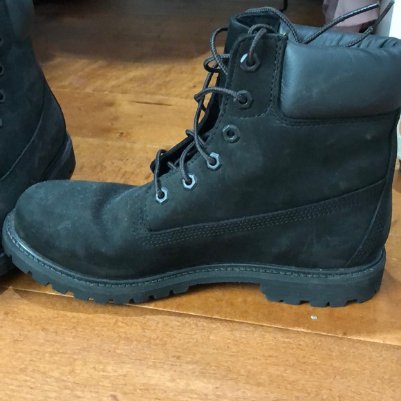 Black Suede Womens Timberland Boots